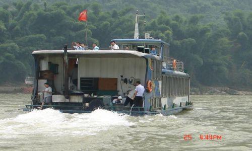 Zdjecie CHINY / Guangzo / Guilin / Odplywamy