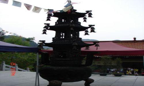 Zdjecie CHINY / Guangzo / Guilin / Kaganek na kruzganku