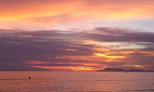 Zdjecie CHINY / Wyspa Hainan / Sanya / Zachód słońca w