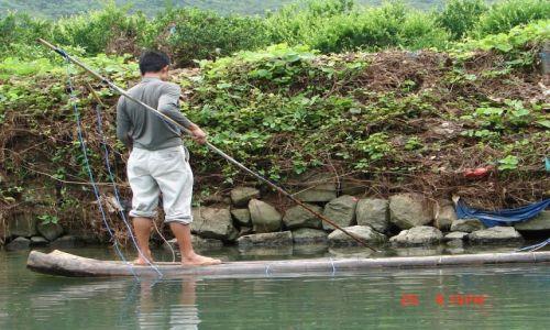 Zdjecie CHINY / GUANZOU / Nanning / Lowienie ryb --Pradem