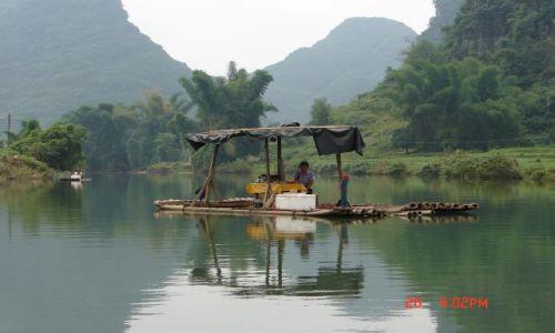 Zdjecie CHINY / Guangzo / Yangsao / Sklep na rzece