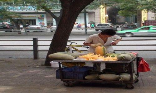 Zdjecie CHINY / brak / Xingxingxia / jednoosobowa przetwórnia melonów