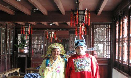 Zdjecie CHINY / brak / Beijinng / cesarz i cesarzowa