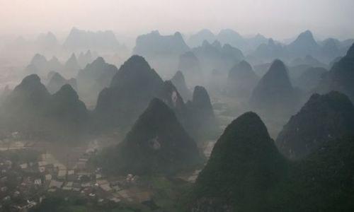 Zdjęcie CHINY / Guangxi / Yangshou / ptakiem być