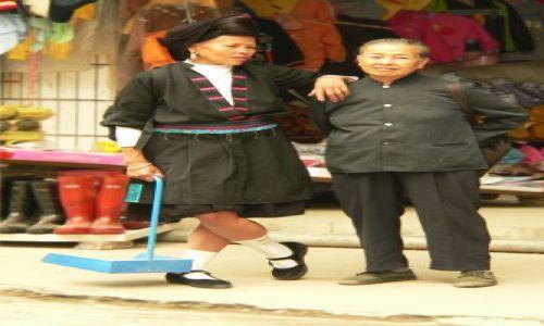 Zdjecie CHINY / Guangxi / Longsheng / pogaduchy