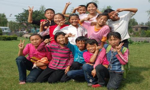Zdjecie CHINY / prowincja Shanxi / Pingyao / Nasi chinscy przyjaciele