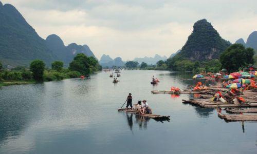 Zdjęcie CHINY / brak / okolice Yangshuo / Rzeka Li