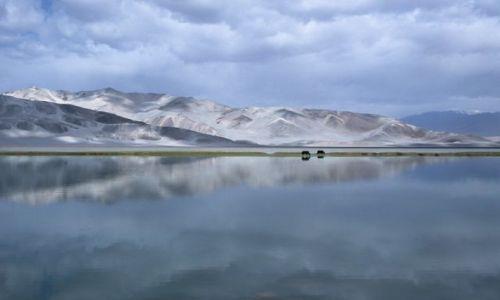 Zdjęcie CHINY / Chiny Zachodnie Pamir / Pamir / Woda i Piasek