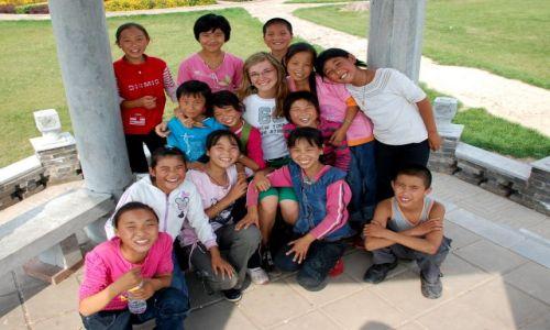 Zdjecie CHINY / brak / Pingyao - park / zdjęcie z uśmiechem :)))) POZNAJMY SIĘ :)