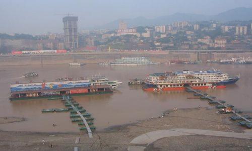 CHINY / Chongqing She / Chongqing / nasz statek