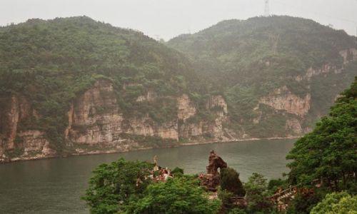 CHINY / Hubei / Yichang / wąwóz Xiling