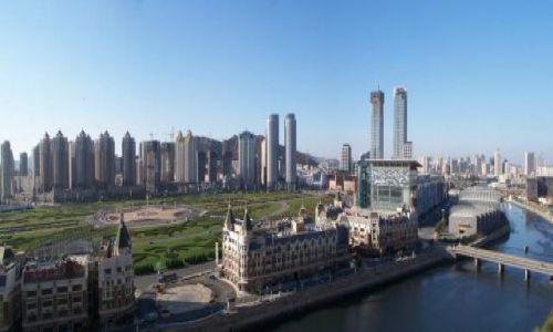 Zdjecie CHINY / Dalian / Dalian / Panorama Dalian