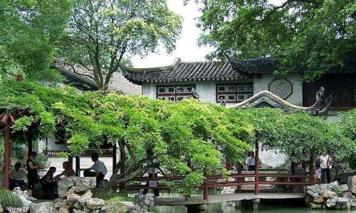 Zdjęcie CHINY / JIANGSU PROVINCE / SUZHOU / PIĘKNE OGRODY