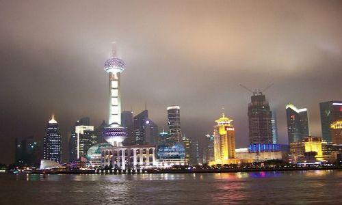 Zdjecie CHINY / brak / SHANGHAI / BY NIGHT