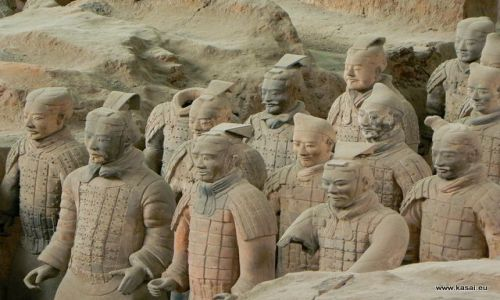 CHINY / brak / Xian / Chiny Terakotowa Armia