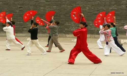Zdjęcie CHINY / brak / Xian / Chiny Tai Chi w Parku