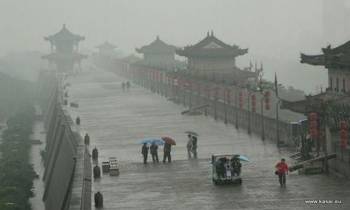 CHINY / brak / Xian / Chiny Xian Fantastyczne mury miejskie