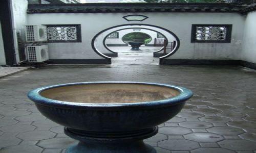 Zdjecie CHINY / brak / Shanghai / świątynia w parku