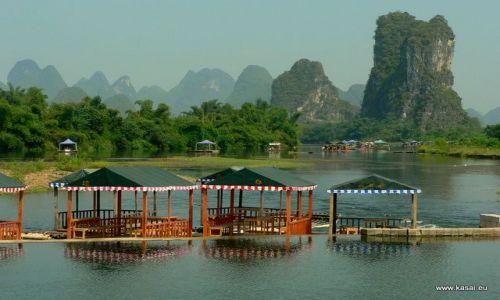 Zdjecie CHINY / brak / Yangshuo / Chiny Yangshuo nad rzeką Li