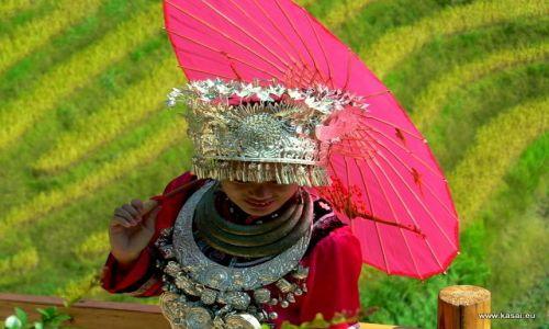 Zdjecie CHINY / brak / tarasy ryżowe Grzbietu Smoka / Chiny tarasy ry