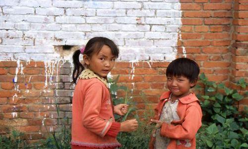 Zdjecie CHINY / brak / Suzhou / mali mieszkańcy Wenecji Wschodu