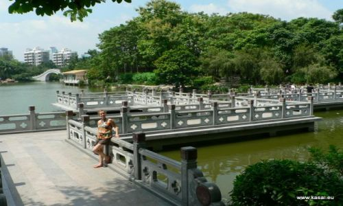 CHINY / brak / Shenzhen Park Lichti / Chiny Shenzhen - choć jedno ładne miejsce