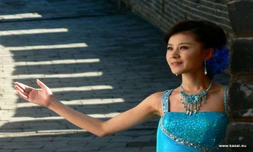 CHINY / brak / Wielki Mur / Chiny Wielki Mur - nagranie teledysku - chińska Doda? ;)
