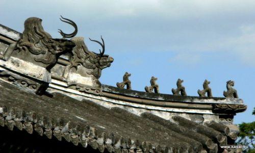 CHINY / brak / Pekin  / Chiny Pekin Pałac Letni ozdobny dach