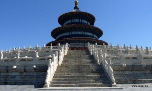 CHINY / brak / Pekin  / Chiny Pekin Świątynia Nieba