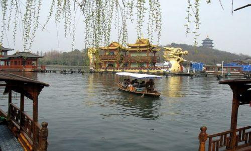 Zdjecie CHINY / Hangzhou / West lake / Smok