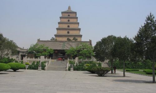 Zdjęcie CHINY / Shaanxi / Xian / Wielka Pagoda Dzikiej Gęsi