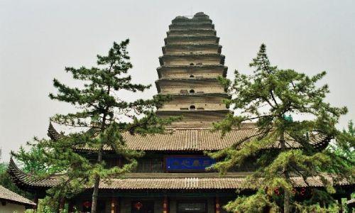 Zdjęcie CHINY / Shaanxi / Xian / Mała Pagoda Dzikiej Gęsi