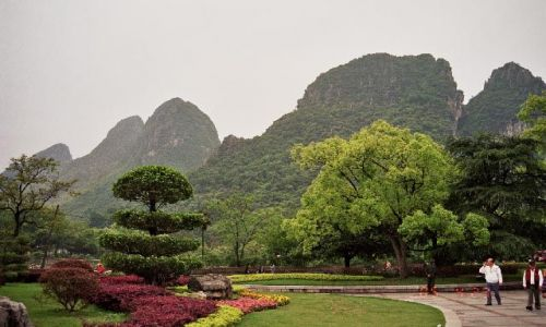 CHINY / Guangxi / Guilin / Okolice Groty Trzcinowego Fletu