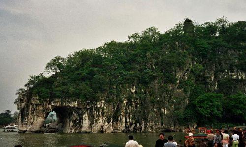 CHINY / Guangxi / Guilin / Wzgórze Trąby Słoniowej
