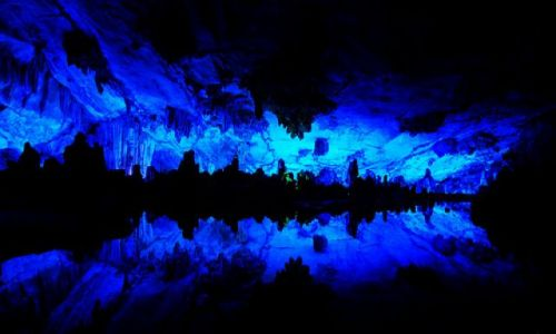 Zdjecie CHINY / brak / Guilin / Reed Flute Cave