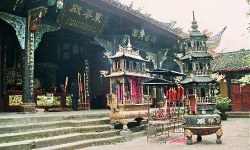 CHINY / Syczuan / Qingcheng Shan / Shang Qing Palace