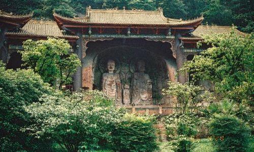 CHINY / Syczuan / Leshan / Park Wielkiego Buddy