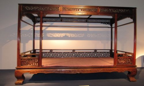Zdjęcie CHINY / Szanghaj / muzeum / wygodne łoże