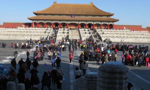Zdjecie CHINY / Pekin / zakazane miasto / Pekin-zakazane miasto