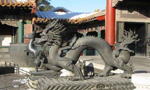 Zdjecie CHINY / Pekin / zakazane miasto / zakazane miasto