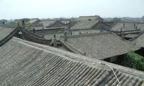 Zdjecie CHINY / brak / Pingyao / po dachu