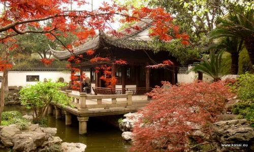 CHINY / - / Szanghaj / Szanghaj - ogrody Yu Yuan