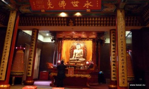 CHINY / - / Szanghaj / Szanghaj - Jadeitowy Budda