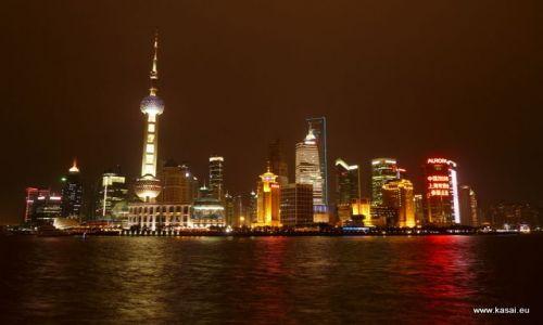 CHINY / - / Szanghaj / Szanghaj - widok na Pudong