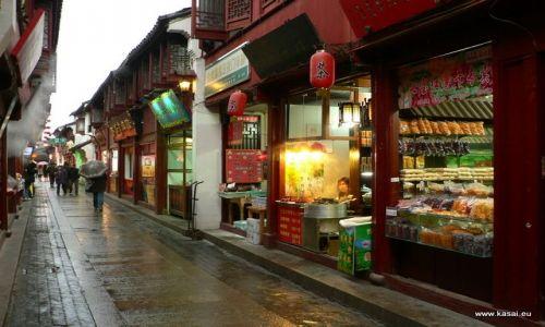CHINY / - / Qibao / Qibao - uliczka
