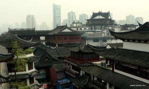 CHINY / - / Szanghaj / Szanghaj Stare Miasto