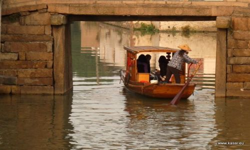 CHINY / - / Suzhou  / Suzhou kanał