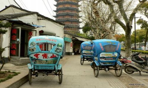 CHINY / - / Suzhou  / Suzhou riksze