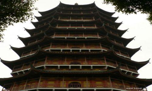 CHINY / - / Suzhou  / Suzhou Pagoda P�nocna