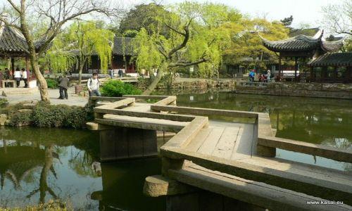 CHINY / - / Suzhou Ogród Pokornego Zarządcy / Suzhou mostek